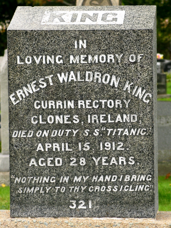 Titanic cemetery Halifax